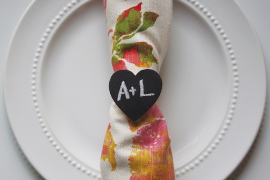 DIY guardanapo napkin